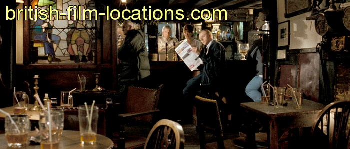 Hot Fuzz 2007 Filming Location The Pub Interior