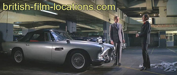 The Italian Job 1969 Filming Location Charlie Picks Up