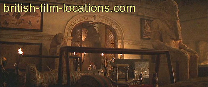 british filming location from mummy the 1999 cairo museum of antiquities interior. Black Bedroom Furniture Sets. Home Design Ideas