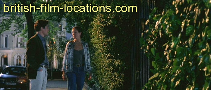 Notting Hill 1999 Filming Location The Private Garden