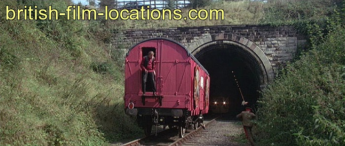 octopussy 1983 filming location train carriages are