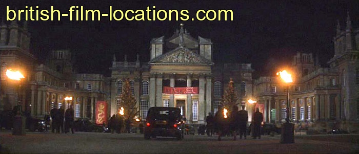 british filming location from entrapment 1999 bedford palace exterior. Black Bedroom Furniture Sets. Home Design Ideas